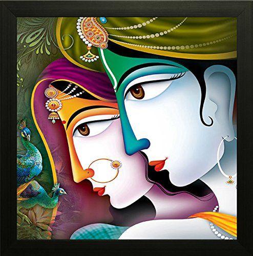 Saf Krishna Painting Radha Krishna Painting Krishna Poster