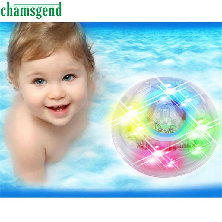 CHAMSGEND 211-1 Children 6 LED water lamp +7 color slow flash S30