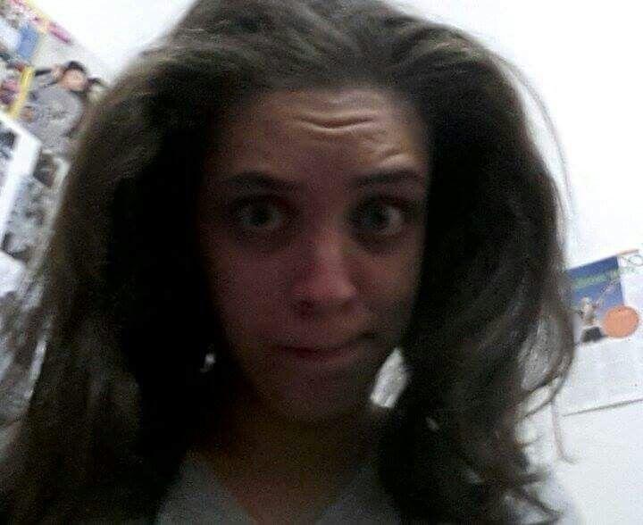 Ummmm. .. bad hair day?