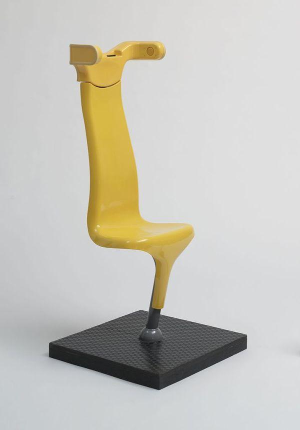 Multilingual Chair By Toshiyuki Kita