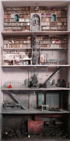 The Demented Dollhouse - I could actually see this as a building in one of my stories.