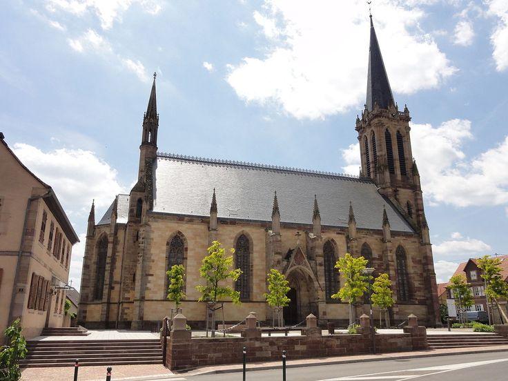 Image illustrative de l'article Église protestante Saint-Martin de Westhoffen