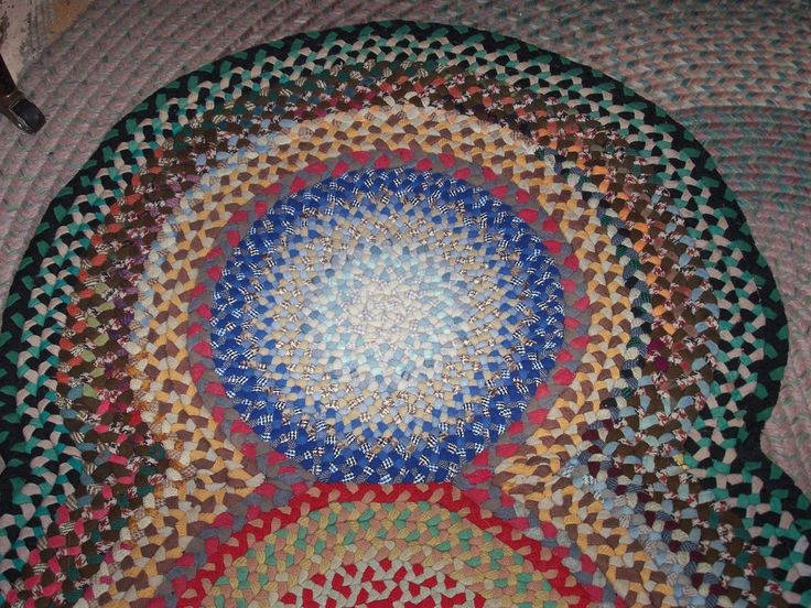 how to make hand braided wool rugs