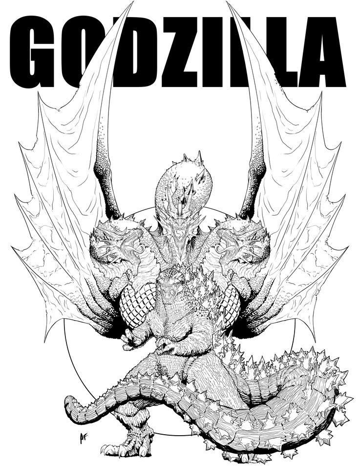 Godzilla Vs King Ghidorah by AndrewFroedge