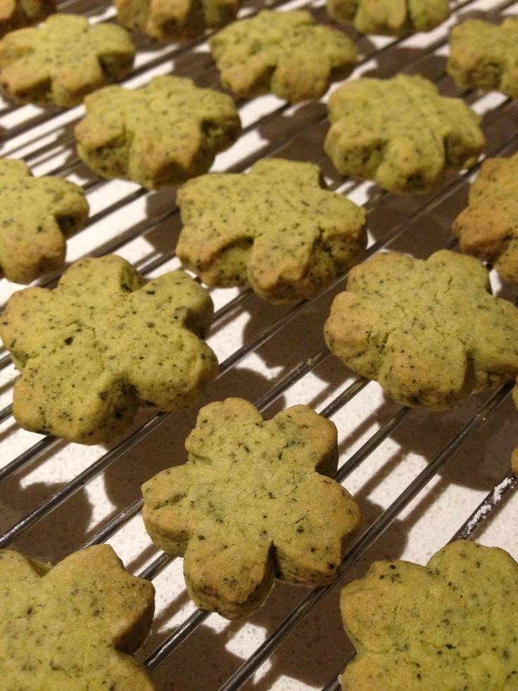 Jasmine Green tea Shortbread Cookies... The floral and buttery ...