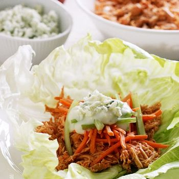 ... on Pinterest | Lettuce Wraps, Shrimp Lettuce Wraps and Buffalo Chicken