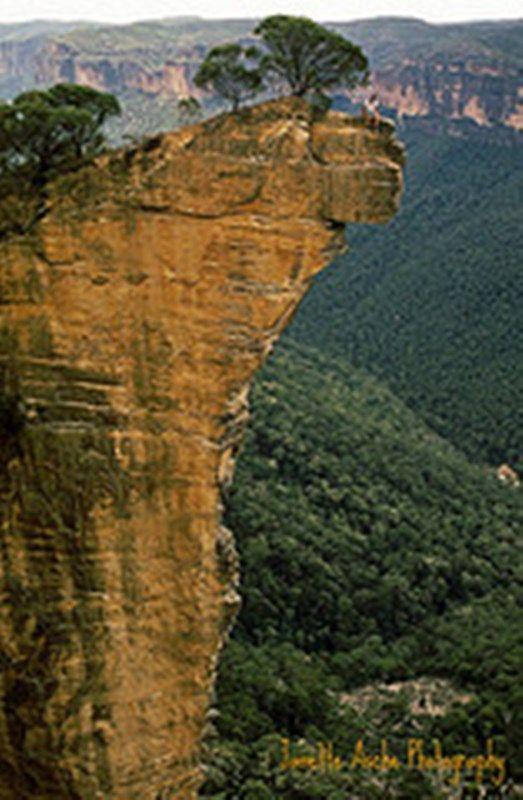 Blue Mountains Blackheath Hanging Rock