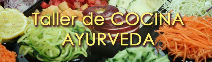 #Taller de #Cocina #Ayurveda Como siempre, será un taller teórico-práctico en el que podrás aprender algunas bases de la #nutrición ayurvédica y, lo más importante, aprenderás a hacer deliciosas y sanísismas #recetas :-)