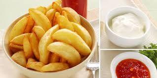 Cara Membuat kentang Goreng Crispy
