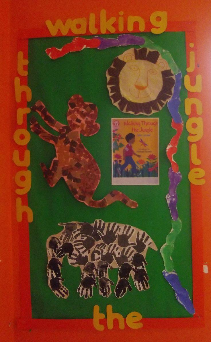 Walking through the jungle worksheet free esl printable worksheets - Walking Through The Jungle Story Books