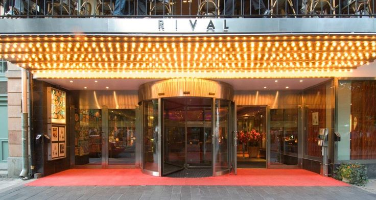 Rival in Stockholm, hotel, bistro and café owned by ABBA member Benny Andersson. Interior design concept and remodelling by Adolfsson & Partners.