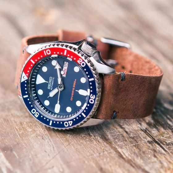 Seiko SKX009 on W&W Strap