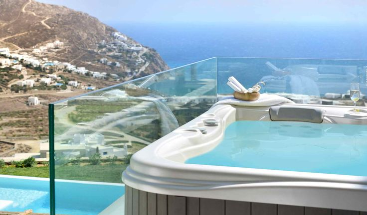 Found in Mykonos, in the area of Elia beach this magnificent vacation villa is the place where you can experience ...