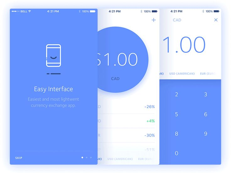 Posting some recent screens that I've been working on for a Currency Exchange app.  Follow me on Twitter & Instagram
