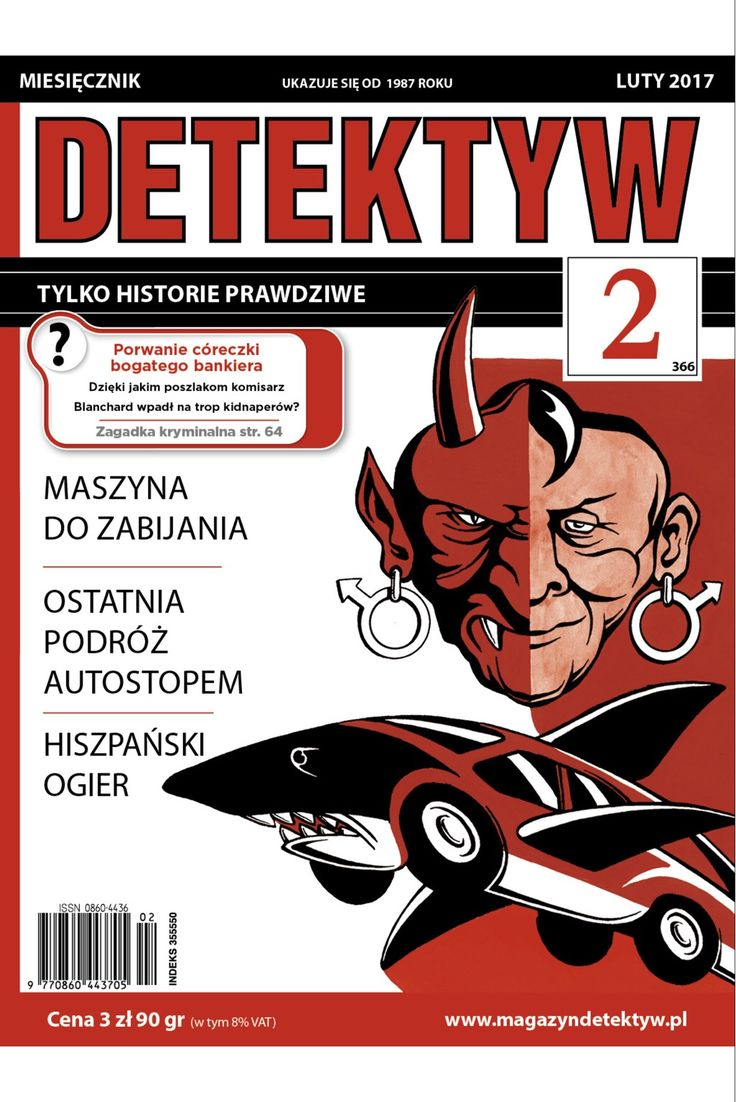 Polish crime magazine. DETEKTYW
