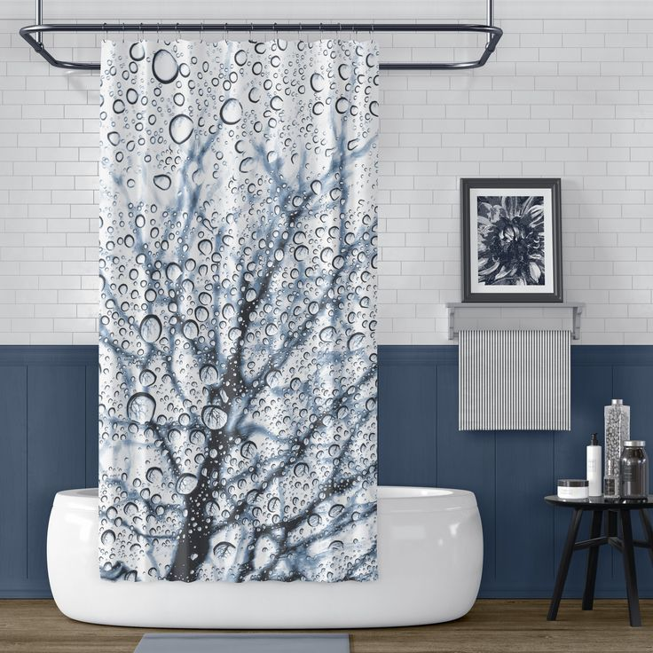 Nature Shower Curtain Effort To Bring Nature Awe
