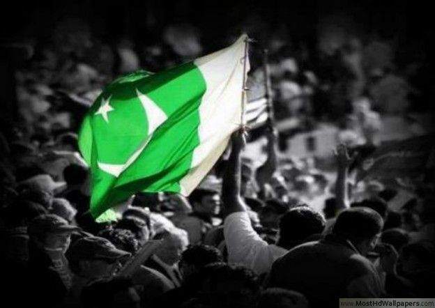 Beautiful Pictures of Pakistan Flag