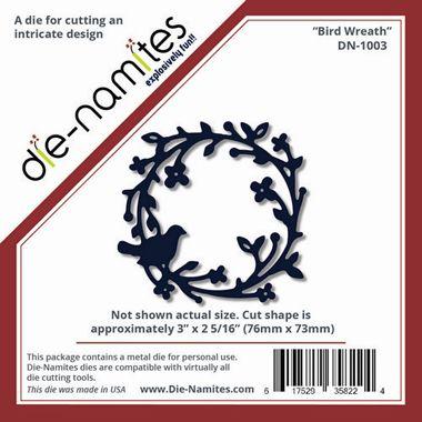 Die Namites Bird Wreath Die   £8.65 RRP http://www.craftwithus.co.uk/landing.php?itemid=375