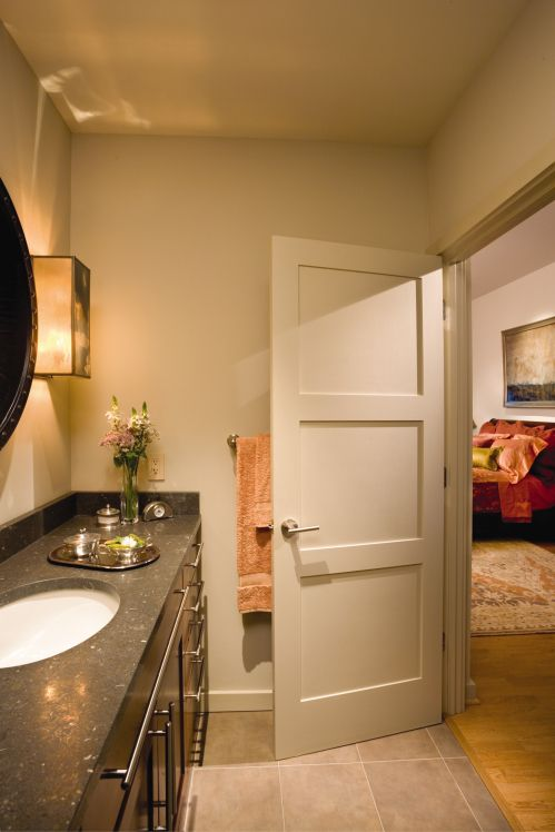 interior doors...only with minor molding detail to exactly match exterior doors.