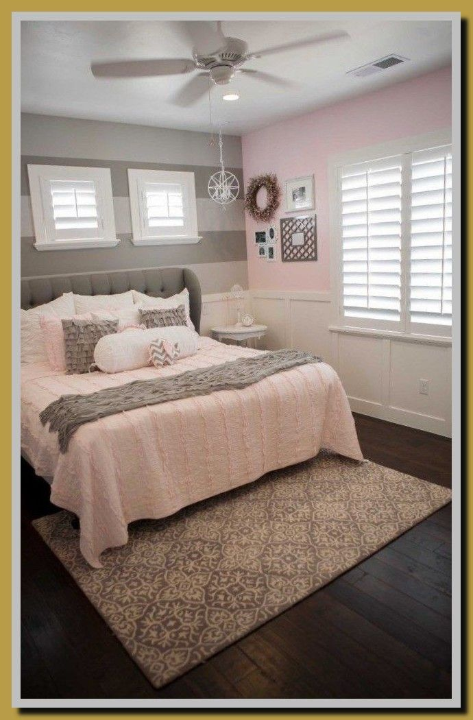 51 Reference Of Light Grey Small Bedroom Ideas In 2020 Pink And Grey Room Pink Bedroom Decor Light Pink Bedrooms