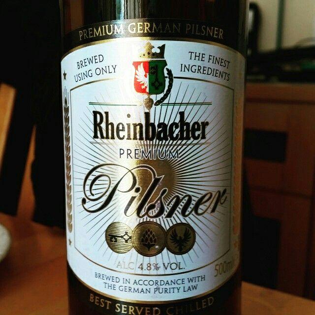 Rheinbacher Premium Pils by ALDI Stores UK