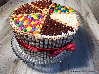 GotujeBoChce: Przepiękny tort tęczowy