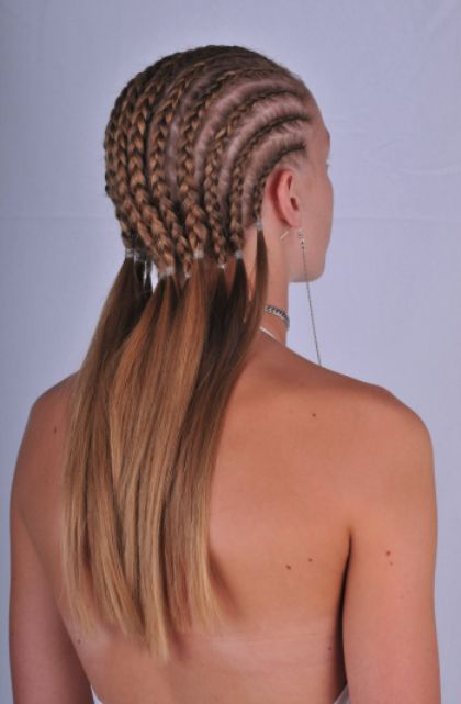 braid styles for white hair 25 best ideas about white cornrows on 1332