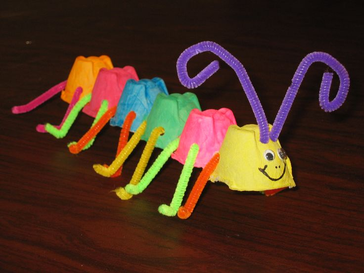 Crafts With Egg Cartons For Toddlers