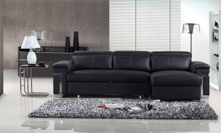 2016 black leather sofa beds; A Charm and Classic Feel with Modern Touch - A Sofa Bed is a perfect addition to every home, nowadays, especially, since the time passes so quickly and the budgets are still the same in this hard economic climate. A sofa bed is perfect because it provides you with two pieces of furniture in one and at a good price. If you adore charm and... - 2016 black leather sofa, 2016 black leather sofa beds, Black Leather Sofa, black leather sofa beds - bed
