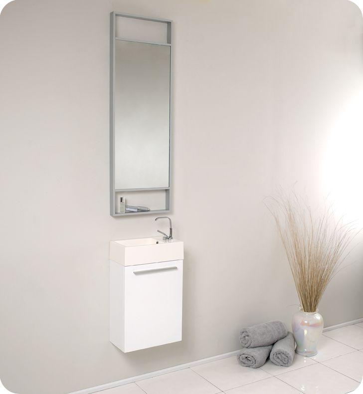 Best 25 Narrow Bathroom Vanities Ideas On Pinterest