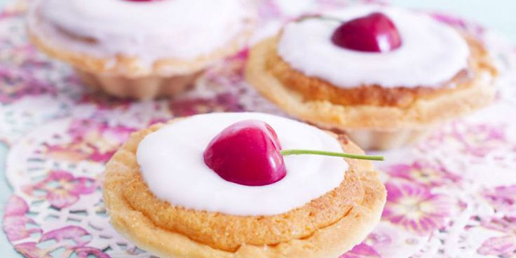 Cherry Bakewell Tarts: Bake these individual cherry bakewell tarts, to top with fresh or glacé cherries