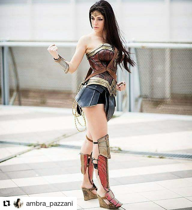 "#Repost  #Cosplayer :@ambra_pazzani with ""When will I play this cosplay again? Who is your favourite comic hero?"" #cosplay #comic #cosplayer #wonderwoman #wonderwomancosplay #dccomics #dc #batmanvsuperman #batman #girl #hair"
