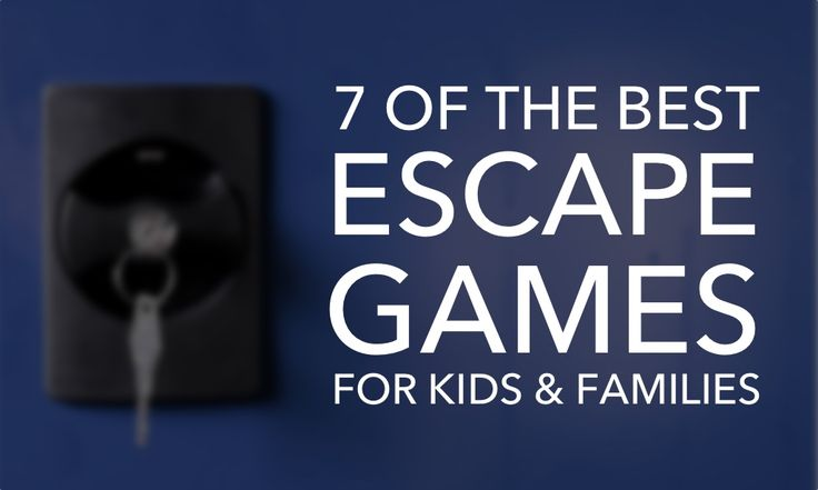 Escape games are a fun and exciting way for children to exercise their problem solving and social skills. Great for classrooms and families!