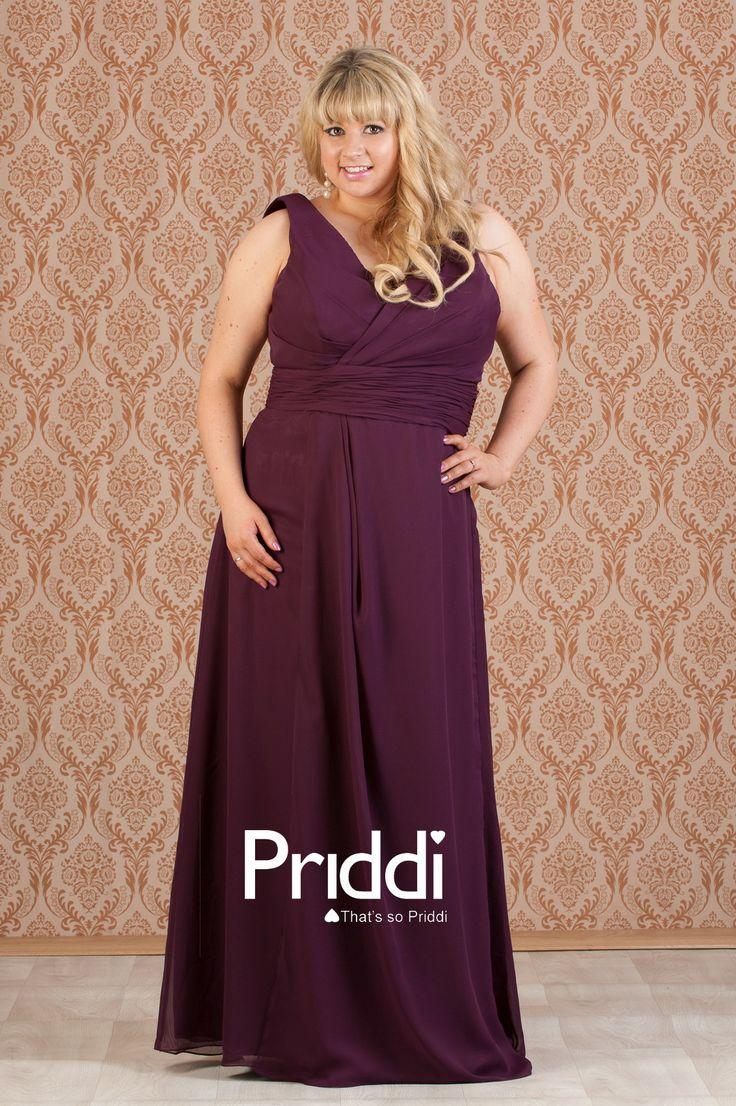 29 best bridesmaid dresses images on pinterest plus size plussizebridesmaiddresseswithsleeves plum chiffon plus sized ombrellifo Images