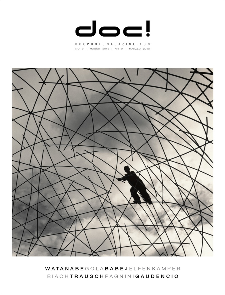 Cover of doc! photo magazine #9 Cover photo: Hiroshi Watanabe