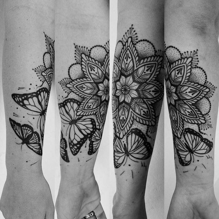 #butterfly #mandala #tattoo