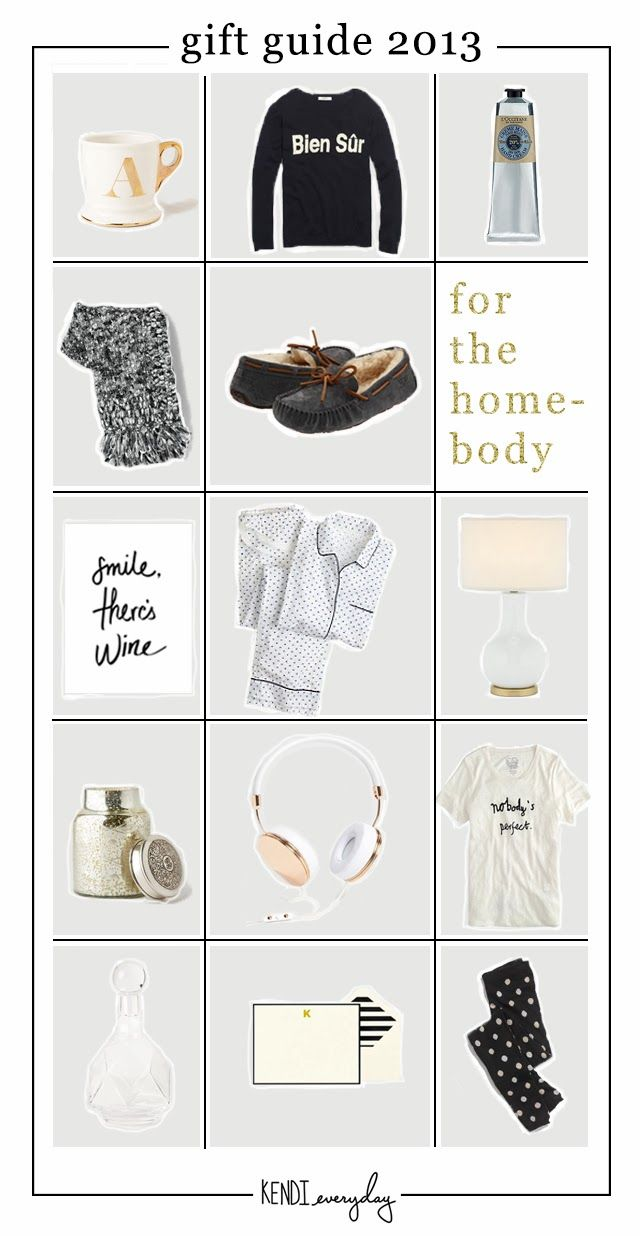 Holiday Gift Guide | For the Homebody