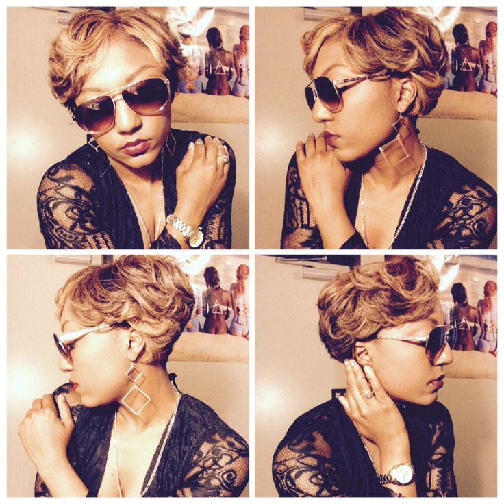 African American Women With Blonde Hair 29