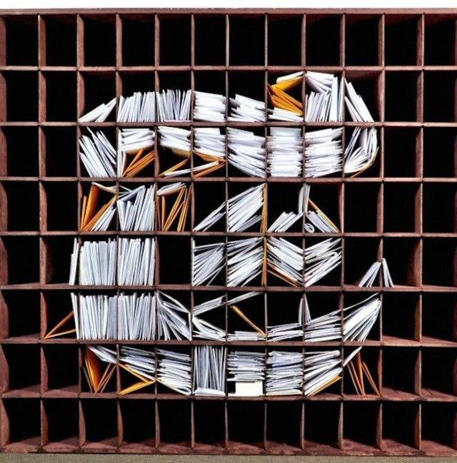NY Times Logo with Stacks of Mail – Fubiz™
