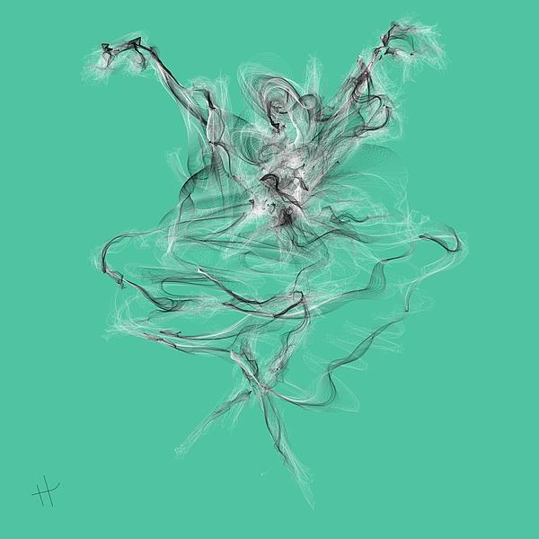 """One of my digital artworks called """"Swan Lake Ballet."""""""