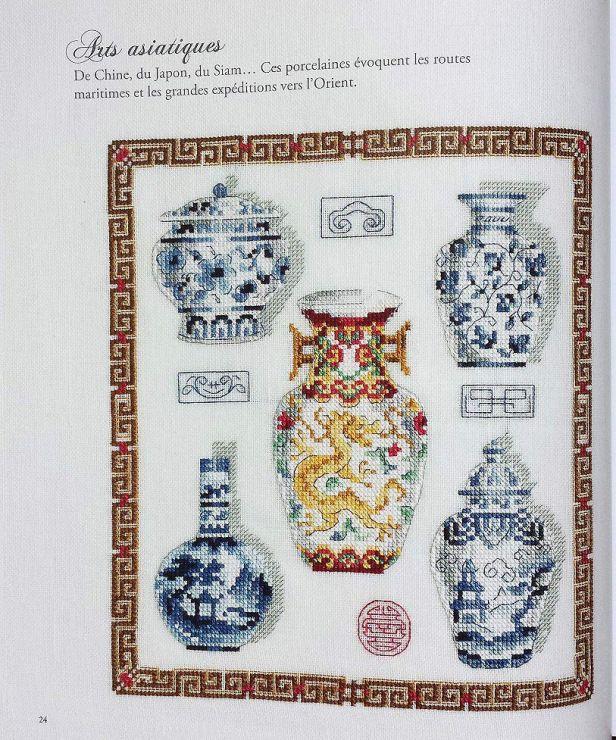 Gallery.ru / Фото #25 - Les plus belles collections au point de croix - Gala40