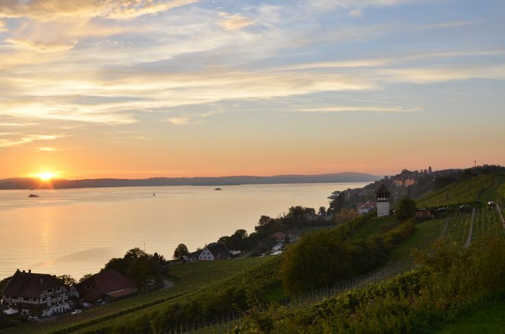 Residenz am See - Germany. It's easy to fall in love with Romantik Hotel Residenz am See with this amazing view over Lake Constance.  #qlhotels #qualitylodgings #residenzamsee #meersburg #germany #waterside #lakeconstance #panoramicview