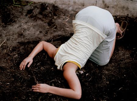 Lee Materazzi - Head in Dirt - 2008