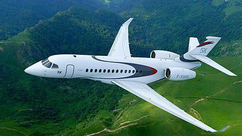 Dassault Aviation - New Falcon 5X Jet