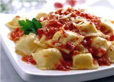 Ravioles de ricota y espinaca  Ricotta and spinach ravioli