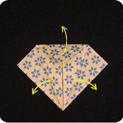 Make a Peace Crane:  Photo Instructions