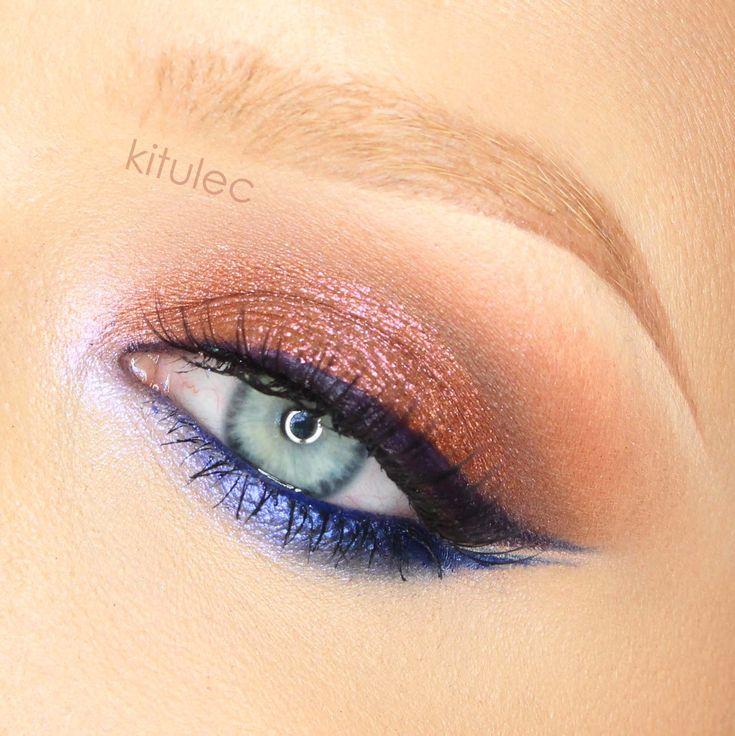 This 'Double Wing Liner' look by kitulec has an extra wing and is extra gorgeous! She used Makeup Geek signature eyeshadows in Cocoa Bear, Creme Brulee, Mocha, and Frappe + Makeup Geek foiled eyeshadows in Center Stage and Flame Thrower.