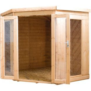 Buy Mercia Garden 7x7ft Wooden Corner Summerhouse at Argos.co.uk - Your Online Shop for Summer houses and beach huts.