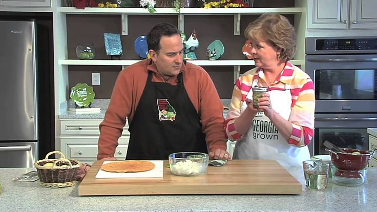 """In this Meals From The Field segment, Ray and Marcia are preparing three quick and simple recipes featuring Georgia's sweet Vidalia Onions.  For these recipes, visit http://www.gfb.org/recipes/  Our """"Meals From The Field"""" segment is a monthly spotlight of one Georgia Grown commodity, with recipes for you to try at home! Brought to you by the Georgia Farm Bureau and the Georgia Department of Agriculture's Georgia Grown program."""