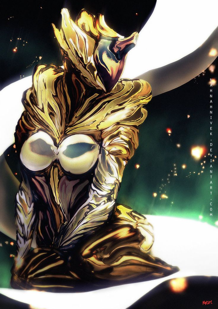 Gold Saryn by nahnahnivek on deviantART